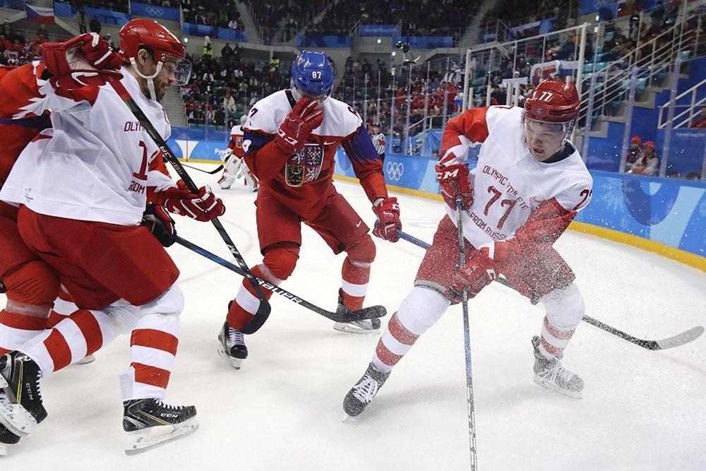 Сборная России по хоккею вышла в финал на зимних Олимпийских играх