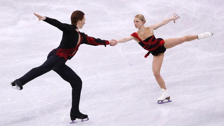 Российские фигуристы взяли серебро в командном турнире на Олимпиаде