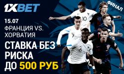 «Ставка без риска» на матч Франция – Хорватия, ошибок не будет!